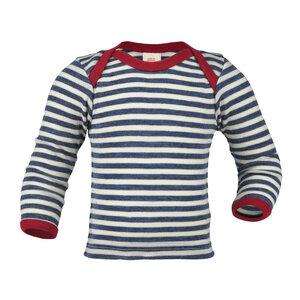 Baby / Kinder Schlupfhemd Langarm Schurwolle kbT - Engel natur