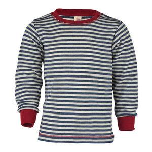 Kinder Langarm-Shirt Schurwolle kbT - Engel natur