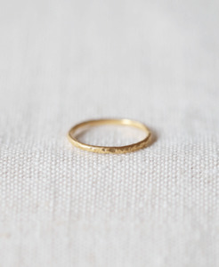 "Vergoldeter Ring ""Thora"" 1,5mm - pikfine"