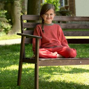 Kinder Pullover Schurwoll kbT - Engel natur