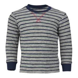 Kinder Schlafanzug-Pullover Schurwoll kbT - Engel natur