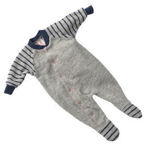 Baby/Frühchen Schlafanzug Schurwoll-Frottee kbT - Engel natur