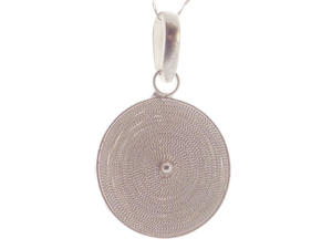 Anhänger Spirale Silber - Filigrana Schmuck