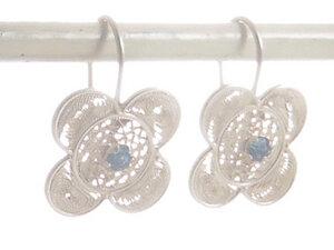 Ohrringe Blüten Silber - Filigrana Schmuck