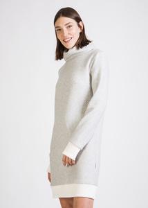 Kleid AQUA aus Bio-Baumwolle - stoffbruch