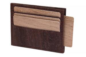 Karten Portemonnaie aus Kork, Kreditkartenetui für 12 Karten - Simaru