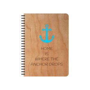 Anchor wiederbefüllbarer Holz- Schreibblock - echtholz