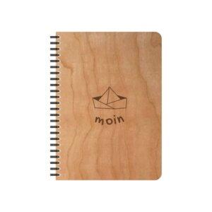 Schreibblock Moin - echtholz