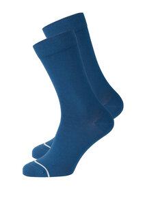 Socken aus Bio Baumwolle blau | Basic Socks #UNI - recolution