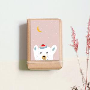 """Postkarte """"Eisbär"""" - noull"""