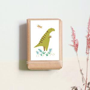 "Postkarte ""Dino"" - noull"