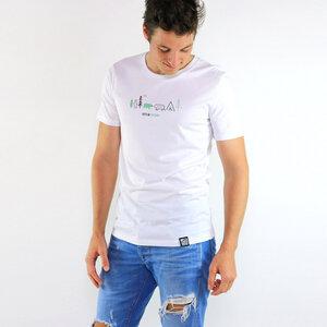 Shirt Let's go outdoor aus Biobaumwolle - Gary Mash