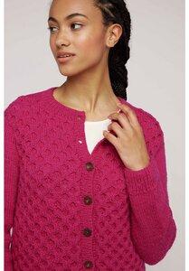 Strickjacke Pink - Honeycomb Cardigan - People Tree