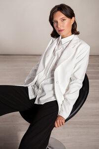 Blazer lang Sakko Viskose - SinWeaver alternative fashion