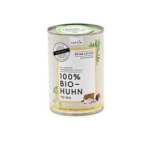 100% BIO-HUHN Reinfleisch-Nassfutter - naftie