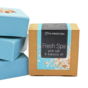 "Salzseife ""Fresh Spa"" - Eve Butterfly Soaps"