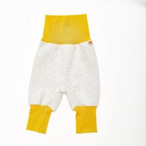 "Baby-Fleecehose ""Fleece Grau"" aus 100% Bio-Baumwolle - Cheeky Apple"