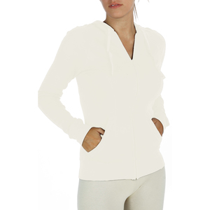 Kapuzen-Sweatshirt with zip and pockets - Biologischer Pima Baumwolle - B.e Quality