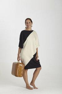 Zweifarbiger Kimono - Biologischer Pima Baumwolle - B.e Quality