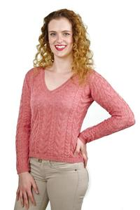 Damen Pullover Mia 100% Baby Alpaka  - AlpacaOne