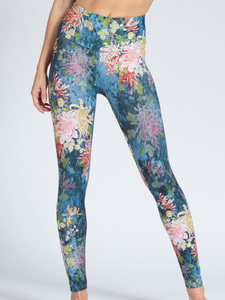 Yoga Leggings FLORA aus Funktionsmaterial - Magadi