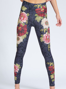 Yoga Leggings BLOOM aus Funktionsmaterial - Magadi