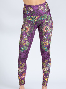 Yoga Leggings FLOWER HISTORY aus Funktionsmaterial - Magadi