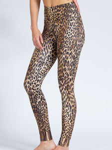 Yoga Leggings LEO aus Funktionsmaterial - Magadi
