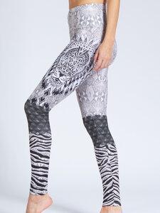 Damen Yoga Leggings Biker - Magadi