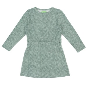 Langarm Mädchenkleid frosty green - Lily Balou