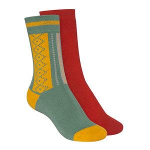 Socken Warm Hoch 2er Pack Bio Fair - ThokkThokk