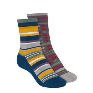 Socken Warm Mittelhoch 2er Pack Bio - ThokkThokk