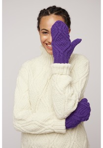 Handschuhe - Cable Mittens - People Tree