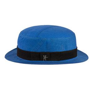 "Bowler-Hut ""Inspector"" aus Arbeitskleidung - hellblau - ReHats Berlin"