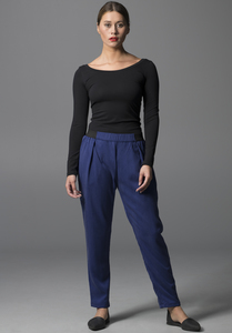 Pants VISKLA electric blue - Lovjoi