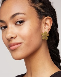 Ohrringe - Large Daisy Stud Earrings - People Tree