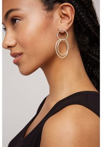 Ohrringe - Linked Rings Earrings - People Tree