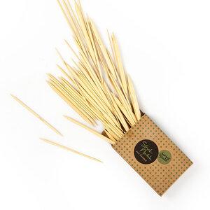 Stricknadel aus 100% Bambus | ca. 20cm lang / 75x im Set - 2,0 bis 10mm  - Bambuswald