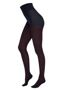 Gestreifte Damen Strumpfhose aus Bio Baumwolle | Tights #STRIPES - recolution