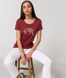 Basic T-Shirt mit Motiv / Golden Tiger - Kultgut