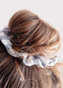 Scrunchie - Haargummi aus Popeline - börd shört