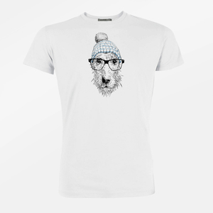 T-Shirt Guide Animal Dog Glasses - GreenBomb