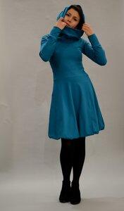 Baumwollkleid mit Kapuze/Hoodie in vielen Farben - ManduTrap