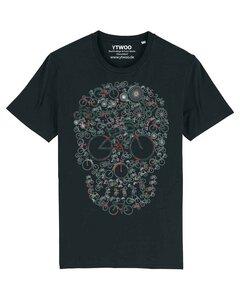 Fahrrad Totenkopf, Skull Bike, Rad mit Totenkopf Design - YTWOO