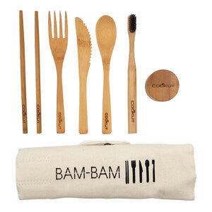 """Besteckset """"BAM BAM"""" aus Bambus - Cookut"""