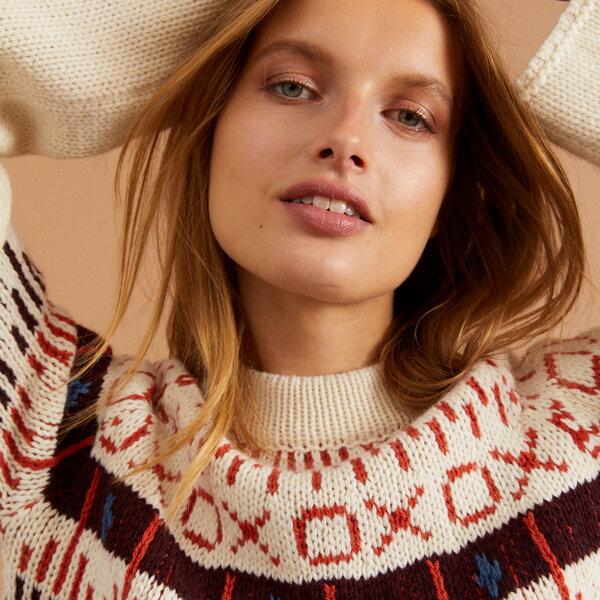 Norweger Pullover aus Schurwolle GOTS