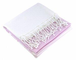 Fouta Hamamtuch aus reiner Bio-Baumwolle 200 × 100 cm (Stil SANDWHITE) - Karawan authentic