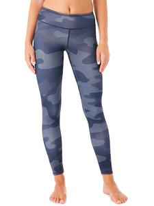Yogahose - Fancy Leggings - Blue Planet Print - Mandala