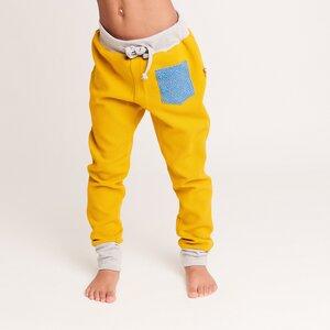 Mädchen-Sweathose mit Tasche und Gummizug, 100% Bio-Baumwolle - Cheeky Apple