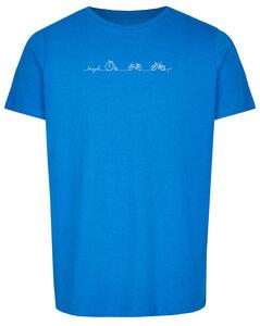 Basic Bio T-Shirt Rundhals Bicycle Line - Brandless